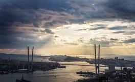 Vladivostok cityscape. Stock Images