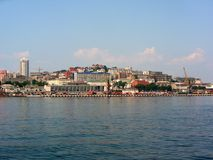 Vladivostok krajobraz zdjęcie royalty free