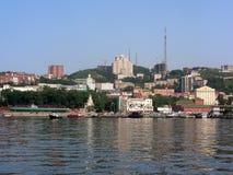 Vladivostok krajobraz obrazy royalty free