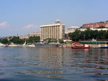Vladivostok krajobraz obraz royalty free