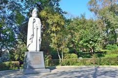 Vladivostok, monumento a Ilya Muromets, primeiro defensor das beiras de Rússia fotos de stock