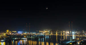 Vladivostok, night view. Stock Photography