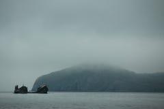 vladivostok O mar japonês Fotos de Stock Royalty Free