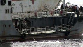 Vladivostok oude schepen stock videobeelden