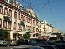 Vladivostok pejzaż miejski obrazy royalty free