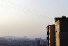 Vladivostok wczesny poranek zdjęcie royalty free