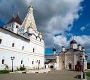 Vladychny monastery in Serpukhov, Moscow area, Russia Stock Images