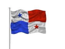 Vlag 2 van Panama Royalty-vrije Stock Fotografie