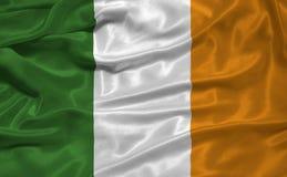 Vlag 3 van Ierland Royalty-vrije Stock Foto's