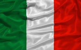 Vlag 3 van Italië royalty-vrije stock afbeeldingen