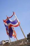 Vlag aan flarden Royalty-vrije Stock Foto's