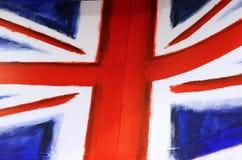 Vlag in de stad van Camden, Londen Stock Foto's
