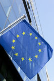 Vlag europeo Immagine Stock Libera da Diritti
