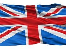 Vlag het Verenigd Koninkrijk van Groot-Brittannië Royalty-vrije Stock Afbeelding