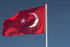Vlag Turkije Royalty-vrije Stock Fotografie