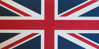 vlag van aka Union Jack van het Verenigd Koninkrijk (het UK) Royalty-vrije Stock Afbeelding