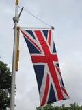 vlag van aka Union Jack van het Verenigd Koninkrijk (het UK) Stock Foto