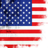 Vlag van Amerika stock illustratie