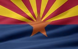 Vlag van Arizona stock illustratie