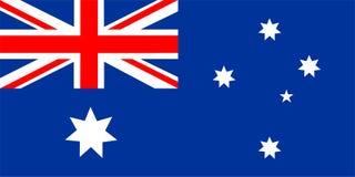Vlag van Australië Royalty-vrije Stock Fotografie