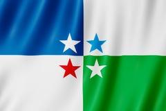 Vlag van Avellaneda stad, Argentinië Royalty-vrije Stock Foto's