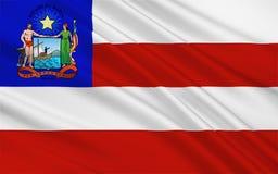 Vlag van Bahia, Brazilië vector illustratie