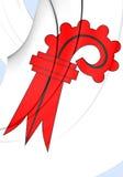 Vlag van Bazel-Landschaft Kanton, Zwitserland Royalty-vrije Stock Afbeelding