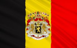 Vlag van België royalty-vrije stock foto
