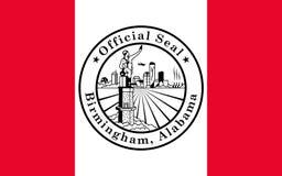 Vlag van Birmingham, Alabama, de V.S. royalty-vrije stock foto's