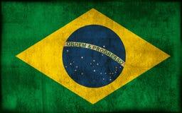 Vlag van Brazilië Royalty-vrije Stock Afbeelding