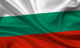 Vlag van Bulgarije Royalty-vrije Stock Afbeeldingen