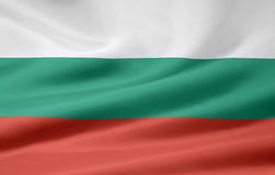 Vlag van Bulgarije Royalty-vrije Stock Foto