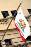 Vlag van Californië Royalty-vrije Stock Afbeeldingen