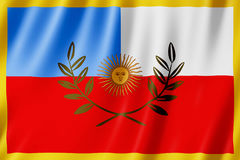 Vlag van Catamarca-Provincie, Argentinië Stock Afbeeldingen