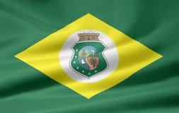 Vlag van Ceara royalty-vrije illustratie