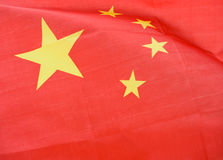 Vlag van China Stock Fotografie