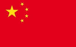 Vlag van China Royalty-vrije Stock Fotografie