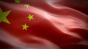 Vlag van China stock videobeelden