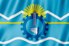 Vlag van Chubut-Provincie, Argentinië Royalty-vrije Stock Fotografie