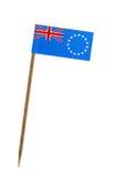 Vlag van Cook Islands Stock Foto