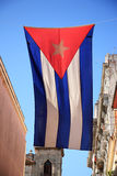 Vlag van Cuba Royalty-vrije Stock Afbeelding
