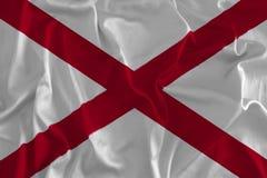 Vlag van de Achtergrond van Alabama, Hart van Dixie vector illustratie