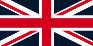 vlag van de van akaunion jack van het Verenigd Koninkrijk (het UK) schitterende vlekken royalty-vrije stock foto