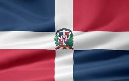 Vlag van de Dominicaanse Republiek Royalty-vrije Stock Foto's