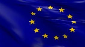 Vlag van de EU stock videobeelden