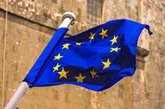 Vlag van de EU Stock Afbeelding