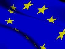 Vlag van de Europese Unie Stock Foto