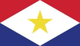 Vlag van de illustratie van het sabapictogram Royalty-vrije Stock Foto's