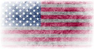 Vlag van de illustratie van de Verenigde Staten van Amerika stock illustratie