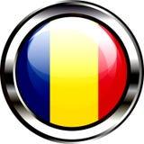 Vlag van de knoop van Roemenië Royalty-vrije Stock Afbeeldingen